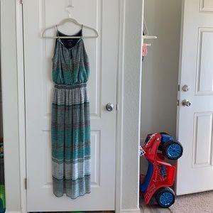 Long short sleeve dress